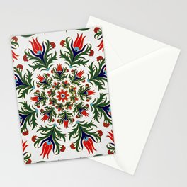 Turkish tulip - Ottoman tile 1 Stationery Cards