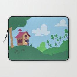 Peepoodo's house Laptop Sleeve