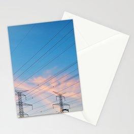 Final Winter Sky Stationery Cards