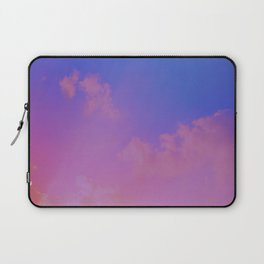Pink And Blue Sky Laptop Sleeve