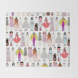 Outfits of Bjork Fashion Throw Blanket