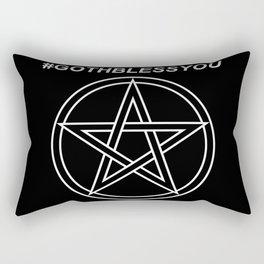 #GOTHBLESSYOU Rectangular Pillow