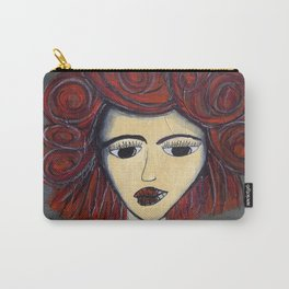 Fire Woman Carry-All Pouch
