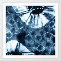 INDIGO N5 Art Print