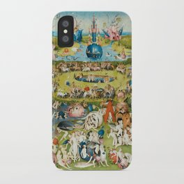 The Garden of Earthly Delights - Hieronymus Bosch iPhone Case