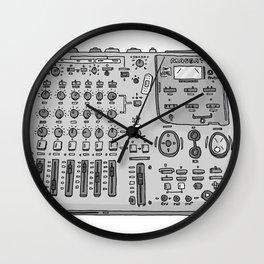 Jx3 Music Series - SIX Wall Clock
