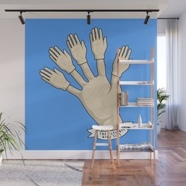THe Ultimate High Five Wall Mural