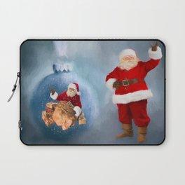 Seasons Greetings from Santa Laptop Sleeve