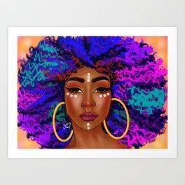 Colorful Kink Art Print