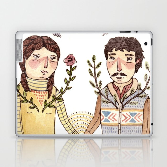 Always Be Honest Laptop & iPad Skin