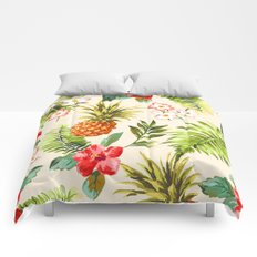 Discover Tropical Power Comforters