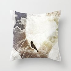 Bird Tales Throw Pillow