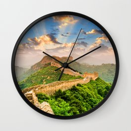 China Wall Wall Clock