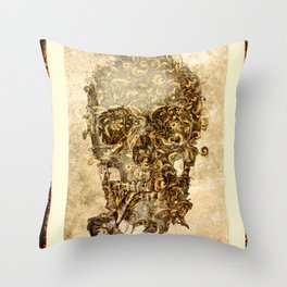 Lord Skull / (Skull Collection) Throw Pillow