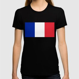 Flag of France, Authentic color & scale T-shirt
