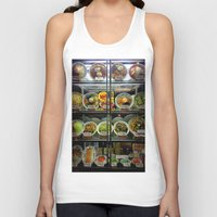 ramen Tank Tops featuring Ramen choices. by Oyl Miller