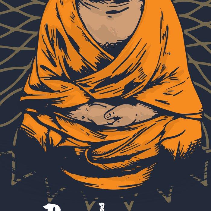Be Happy Little Buddha Leggings