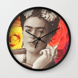 Frida Cigarettes Wall Clock