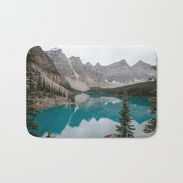Moraine Lake, Banff National Park Bath Mat