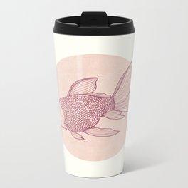 Lonely Goldfish Metal Travel Mug