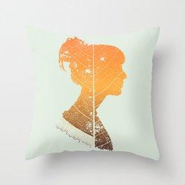 Crumble Soul Throw Pillow
