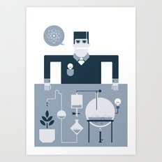 Artificial Science Art Print