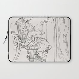 Priest of Bacchus  attendant from An  of the Egyptian Grecian and Roman costumes by Thomas Baxter(17 Laptop Sleeve