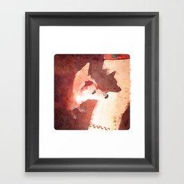 Shibainu Chai Framed Art Print
