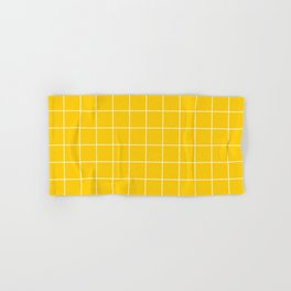 Sunshine Grid Hand & Bath Towel