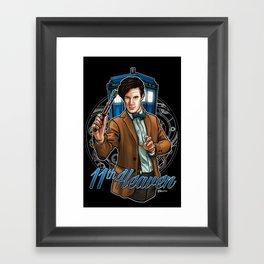 11th Heaven Doctor Who Framed Art Print