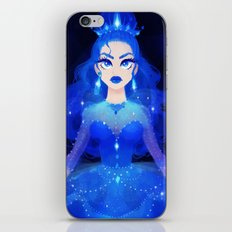 Princess Blue iPhone & iPod Skin
