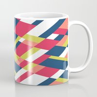 matisse Mugs featuring Map Matisse Stretched by Project M