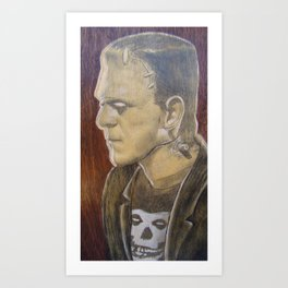 Frankie the Misfit Art Print