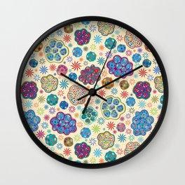 Cilia Breathe, a microscopic cross-section view Wall Clock