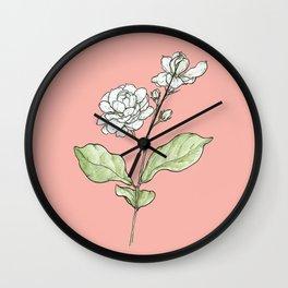 Sampaguita Wall Clock
