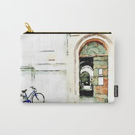 Faenza: parked bicycle Carry-All Pouch