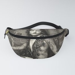 Annelee Patterson Ziegfeld Follies Model Jazz Age black and white photograph Fanny Pack