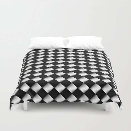 Black and White 1 Duvet Cover