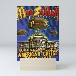 MAC SABBATH AMERICAN CHEESE AUGUST TOUR DATES 2019 RISOL Mini Art Print