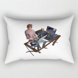 Hiccup_CatToothless Rectangular Pillow