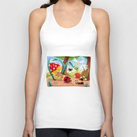 insects Tank Tops featuring Insects family on the ground. by Danilo Sanino