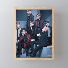 BTS Group Framed Mini Art Print