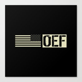 U.S. Military: OEF Canvas Print