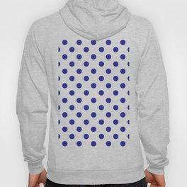 Polka Dots (Navy & White Pattern) Hoody