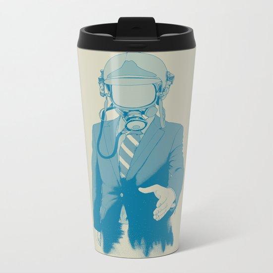 Come To Our Aid Metal Travel Mug