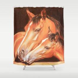 Love horses Shower Curtain