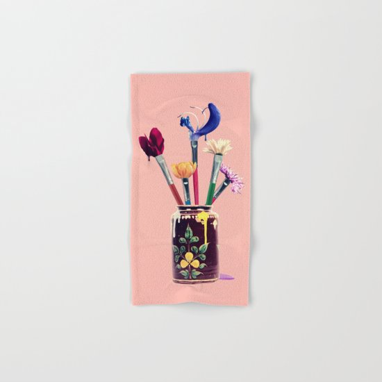 Art Imitates Life Hand & Bath Towel