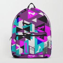 High Heels Geometric Pattern Backpack