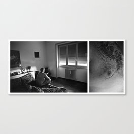 Intimitudini #01 Canvas Print