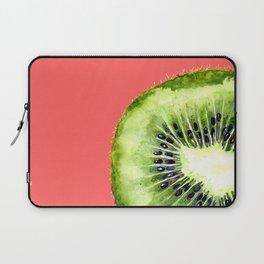 Kiwi on Coral Laptop Sleeve